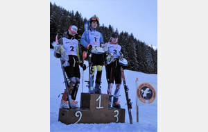 Matts sur le podium de la FIS à Bellecombe